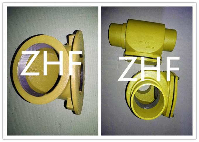 Resilient Seat Rising Cast Iron Valve Metal Seated Gate Valve Body