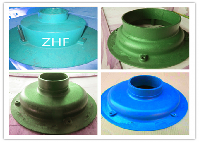 Blue Cast Iron Floor Drain  Heavy Duty Couplings Assembled With Plastic Plug