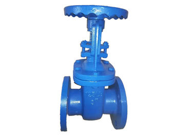 China Resilient Seat Rising Cast Iron Valve Metal Seated Gate Valve Body supplier
