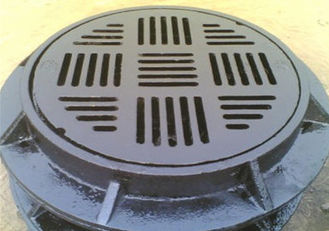 China Outdoor Ductile Iron Manhole Cover Durable Replacement Manhole Cover Customized Product supplier