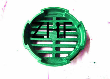 "China Green Round Cast Iron Storm Drain Grates 6"" For Residential System factory"