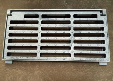 "China 10*14*3.5""Ductile Iron Channel Grating Square Ground Drainage Grates distributor"