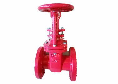 China Non Rising Stem Cast Iron Gate Valve Body DIN3352-F5 Standard Approved distributor