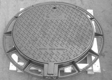 China Professional Ductile Iron Manhole Cover Customized Dimension And Colors factory