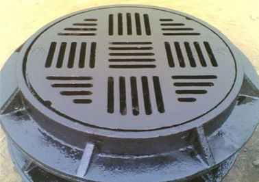 China Outdoor Ductile Iron Manhole Cover Durable Replacement Manhole Cover Customized Product factory