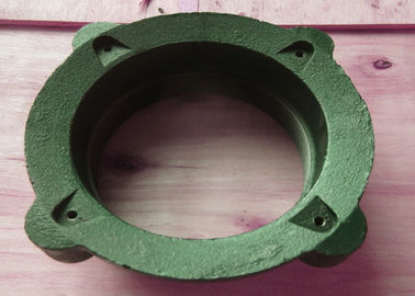 "China 2.5"" Cornice Drain Cast Iron Drainage Fittings Sand Casting Anti Rust factory"